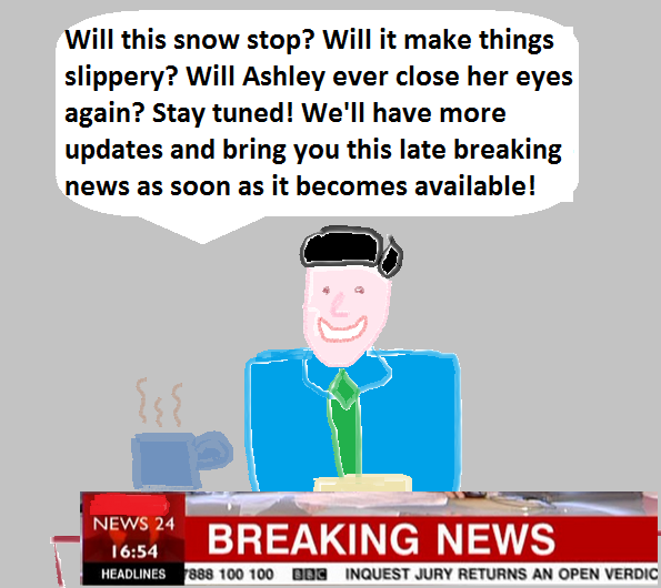 late breaking news NEW
