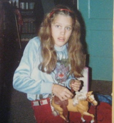 So. My name is Denise and I wear velour shirts and play with Barbies. Deal with it.