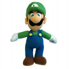 Luigi, doing his part for Movember.