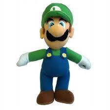 Luigi, doing his part for Movember.