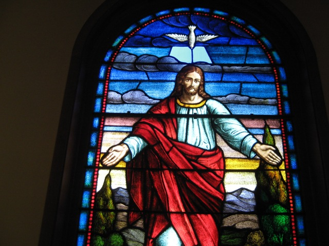 Jesus-with-Open-Arms-Stained-Glass-Window