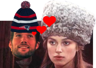 (editor's note: I think it's her hat. No...on second thought, it's everything else about her.)