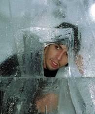 david blaine in ice
