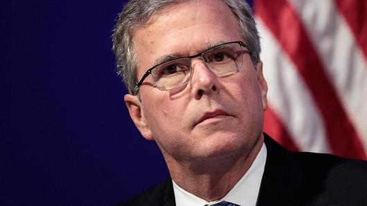 Curse you, Jeb, and those smoldering bedroom eyes!